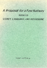 Cover of CSIRO proposal for a fast railway 26 July 1984