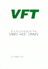 VFT The Economics of the Very Fast Train, Oct 90 -- cover